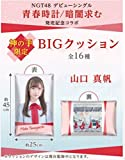 NGT48 山口真帆 神の手 デビューシングル 青春時計/暗闇求む 発売記念限定 ビッグクッション グッズ AKB48 BIGクッション