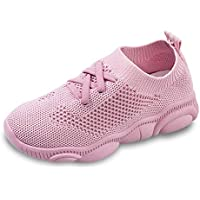 ESTAMICO Boys Girls Premium Breathable Knit Walking Shoes Kids Lightweight Fashion Sneakers for Running Pool Beach