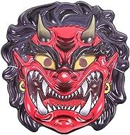 節分 超リアル 3D 鬼の仮面 & 金棒(大サイズ85cm) (リアル3D鬼の仮面)