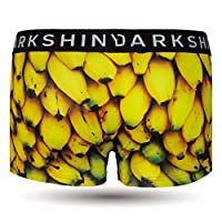 DARK SHINY(ダークシャイニー) メンズマイクロボクサーパンツ Men's Mico Boxerpants - BANANA L -YLMM27L