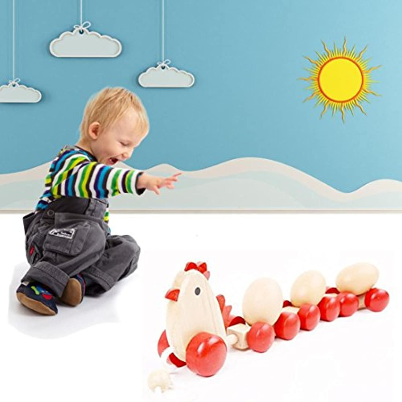 教育玩具 – 木製coerni Chick Train with 3卵