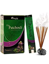 aromatika Vedic Patchouli自然Masala Incense Sticks inパックof 12