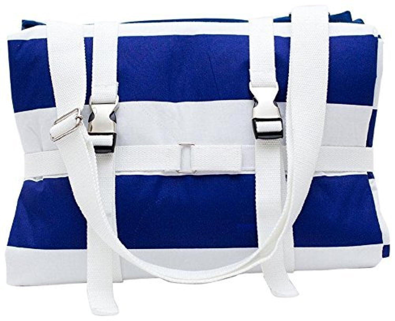 Palm Beach Crew Brilliant Blanket - Cabana Blue Stripes by Palm Beach Crew [並行輸入品]