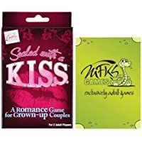 Sealed with a K.I.S.S. - Adult Card Game For Couples - Bundle - 2 Items by MFKS Games [並行輸入品]