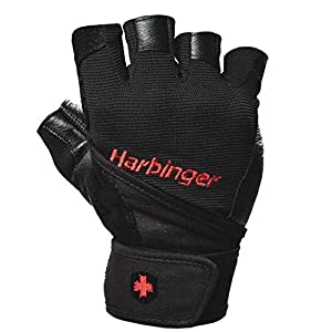 リストラップ機能でリフティングトレーニング時の手首のけがを防ぎます。甲部と指の間にストレッチ素材を使うことで、快適にフィットします。  ハービンジャーのベストセラートレーニンググローブのリニューアルデザインです。手のひら部分に通気孔を設けさらにスタイリッシュになっております。