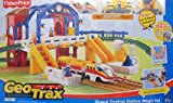 GEOTRAX Geo Trax REMOTE Control GRAND CENTRAL STATION 'MEGA' TRAIN SET w SOUNDS  The FASTEST Team & CONFUSED Team (Total 4 FIGURES) & More! (2007)