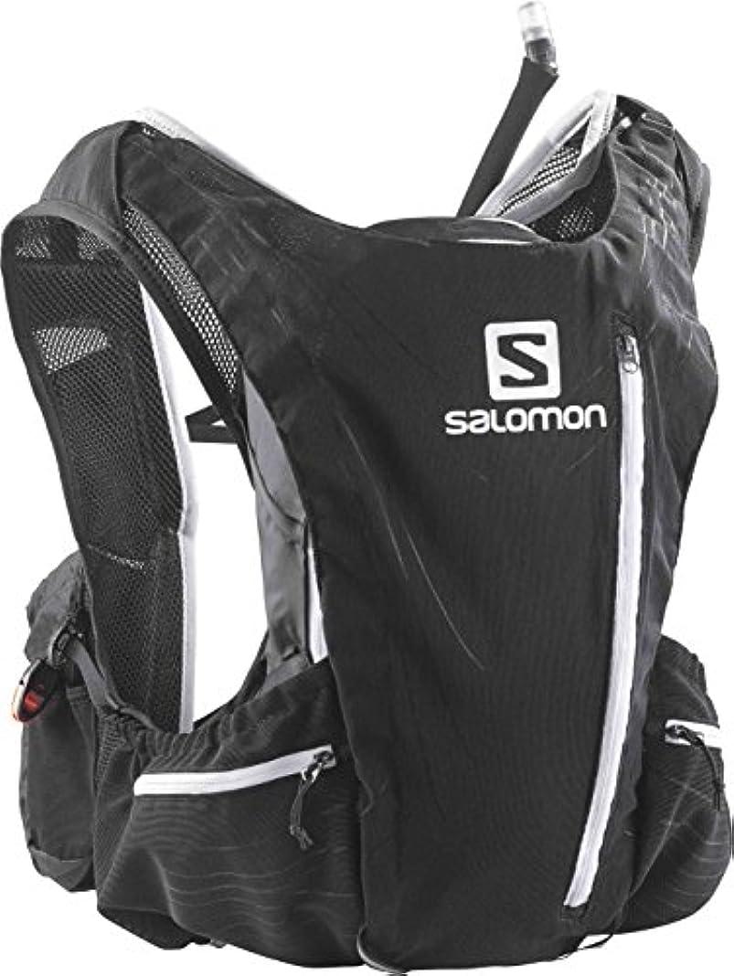 メタンカリキュラム努力[サロモン] ランニングハイドレーションバッグ ADVANCED SKIN 12 SET メンズ