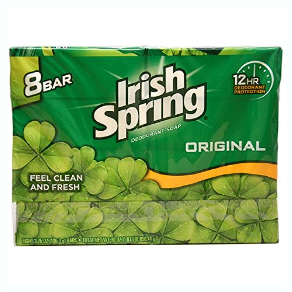 ラインナップメロドラマ美的Irish Spring デオドラントソープオリジナル - 8のCt
