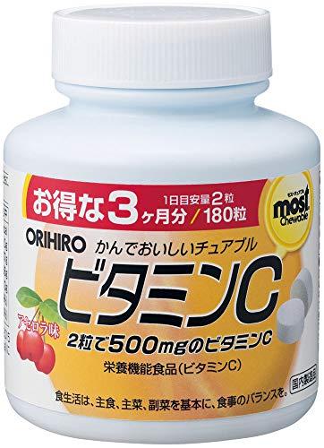 オリヒロ チュアブルビタミン ビタミンC...