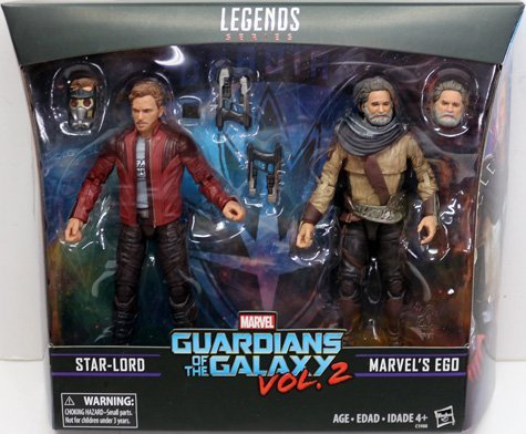 Marvel Legends Series Guardians of the Galaxy 2 EGO Figure from 2-Pack