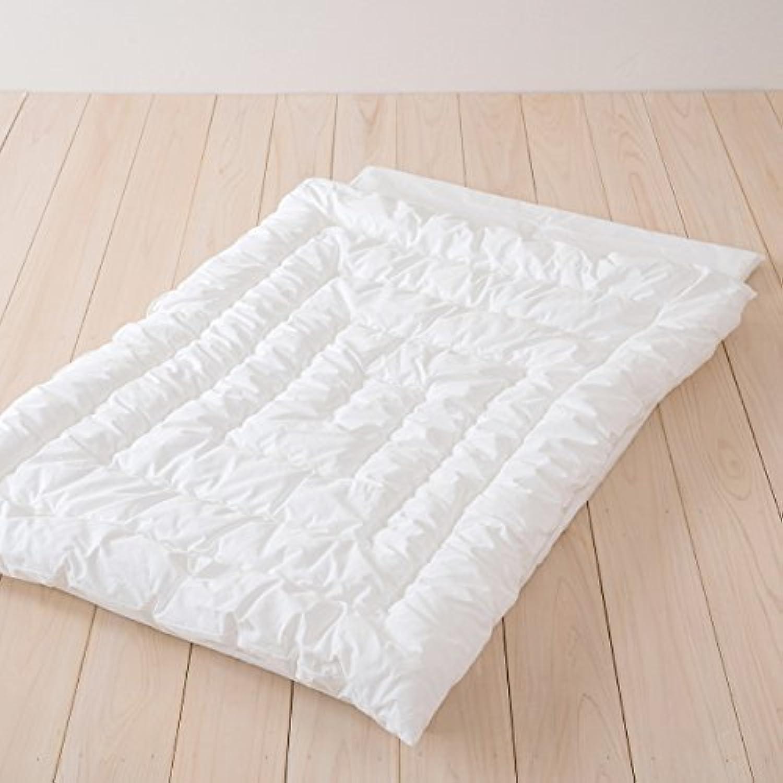 西川リビング お昼寝5点セットMFガーゼ 洗濯機で丸洗いOK 側生地?カバーは綿100% 日本製 ベージュ[30]