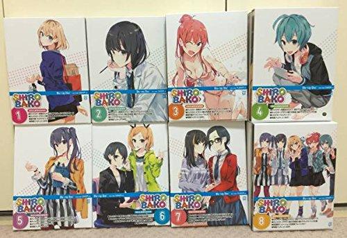 SHIROBAKO (初回生産限定版) 全8巻セット [マーケットプレイス Blu-rayセット]