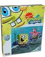 Nickelodeon Spongebob Squarepants 100-pieceパズル、Rollerskating
