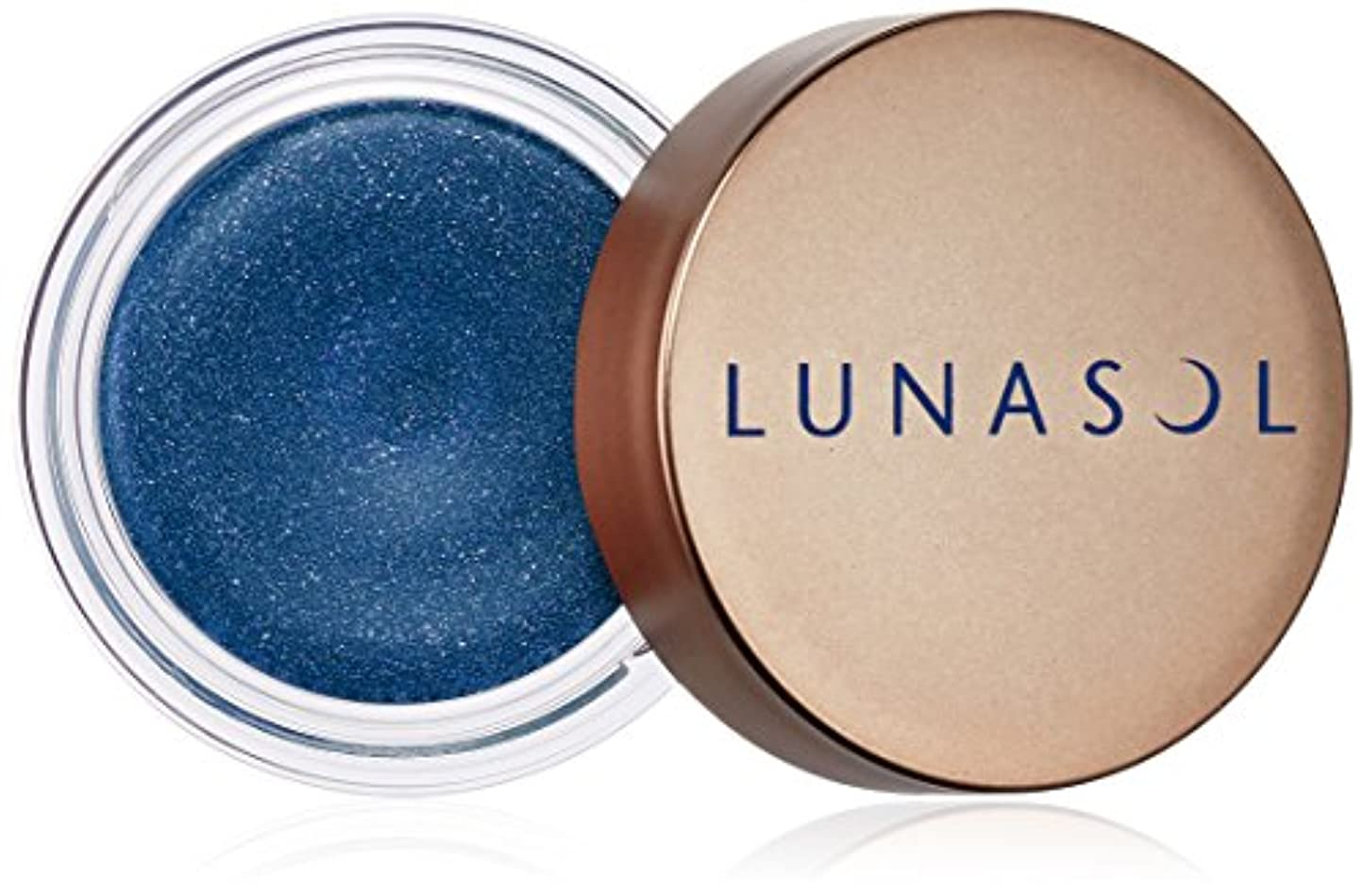 ルーキー投げる促進するルナソル シマーカラーアイズ EX05 Indigo Blue アイシャドウ