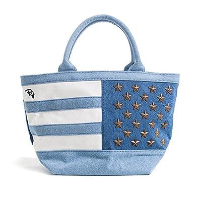 Ron Herman レディース トートバッグ ロンハーマン Tote Bag 星条旗 50stars (ブルー)