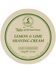 Taylor of Old Bond Street Lemon & Lime Shaving Cream Bowl Twin Pack by Taylor of Old Bond Street [並行輸入品]