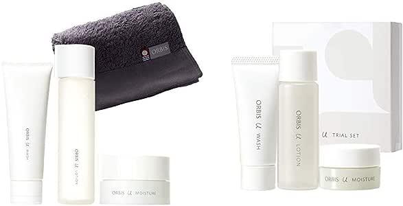 【セット買い】オルビス(ORBIS) オルビスユー 3ステップセット タオル付(洗顔料+化粧水+保湿液) & オルビスユー トライアルセット(洗顔料・化粧水・保湿液/各1週間分)