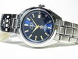 [テクノス]TECHNOS 腕時計 オールステンレス 自動巻き ブルー×ゴールド T2342-SN メンズ[正規輸入品]