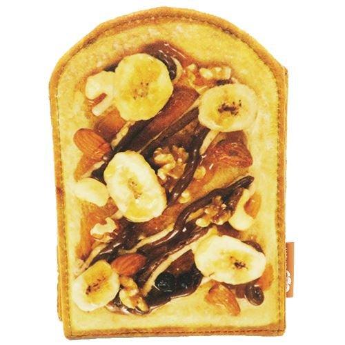 バナナチョコナッツトースト[手鏡]まるでパンみたいな スタンドミラー2
