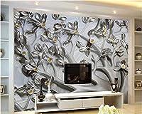 Weaeo 高品質のカスタム壁紙3Dツリーレリーフリーフホテルのインテリアの背景の壁紙リビングルームのコンタクトペーパー-200X140Cm