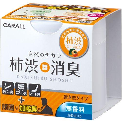 オカモト産業(CARALL) 柿渋消臭置き型 無香料 車用消...