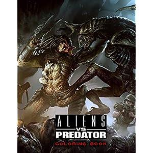 Aliens vs Predator Coloring Book