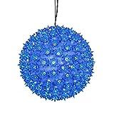 Best Vickermanクリスマスツリー - Vickerman 10 Blue Lighted Hanging Starlight Sphere Christmas Review