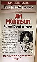 ショープリント・ポスター★伝説のロック Jim Morrison ジム・モリソン