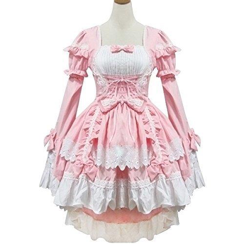 ハロウィーン メイド コスプレ メイド服 ゴスロリロリータ コスチューム [bb101]