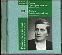 Sophia Preobrazhenskaya – Romances And Songs