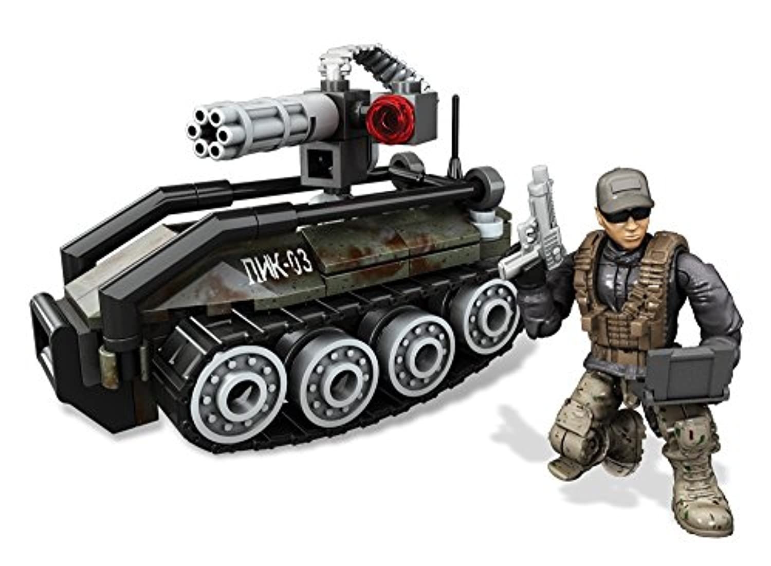 Mega Bloks Call of Duty Assault Stirke UGV Drone 6 Toy