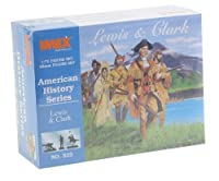 Lewis & Clark American History Figures Set 1/72 Imex by Imex [parallel import goods]