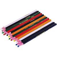 Prettyia カラーペン グリース鉛筆 クレヨン クレヨンスティック ハンドペイントペン 裁縫用 24ピース