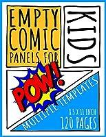 Empty Comic Panels for Kids