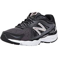 New Balance Women's 680 Black/Silver Sneakers EU