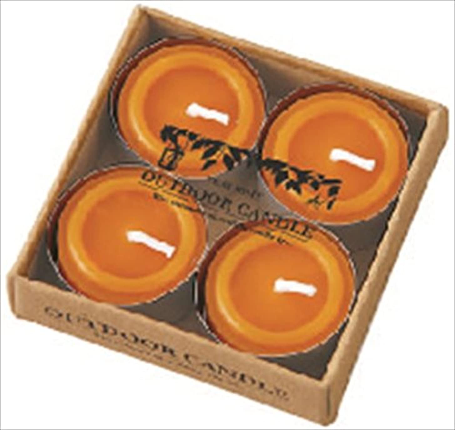 梨協力年次カメヤマキャンドル( kameyama candle ) シトロネラティーライト4個入り A8590500