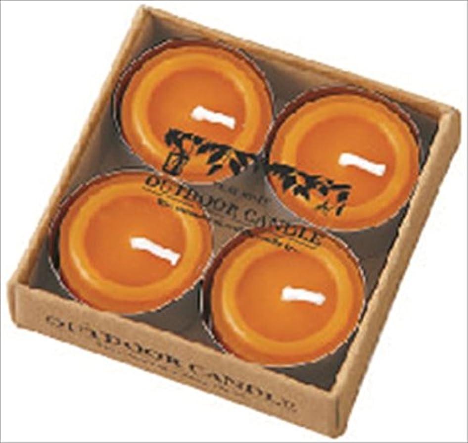 カメヤマキャンドル( kameyama candle ) シトロネラティーライト4個入り A8590500