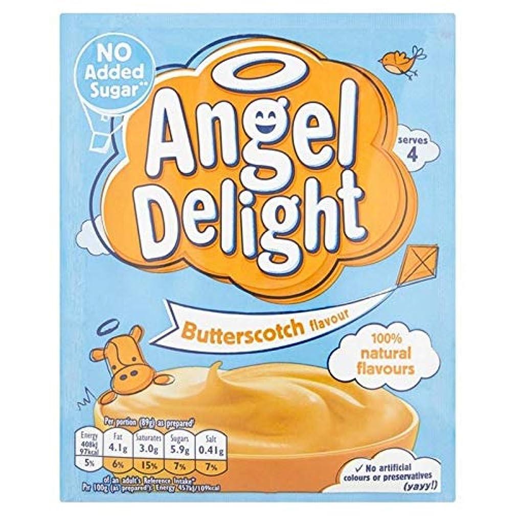 滑りやすい迅速栄光の[Angel Delight] 天使の喜びのバターを加えていない砂糖47グラム - Angel Delight Butterscotch No Added Sugar 47g [並行輸入品]