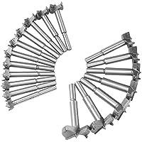 木工用ドリル 木工用穴あけホールソーボアビット 木工用ボアビットセット (18本組)