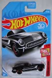 Hot Wheels 2018 50th Anniversary Then and Now '55 Corvette 45/365 Black [並行輸入品]