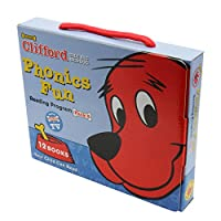 Clifford the Big Red Dog Phonics Fun Reading Program Pack 5 (12 Books) クリフォードフォニックス・ボックスセット5