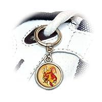 赤中国語ドラゴン - フライングサーペントファンタジー靴の魅力