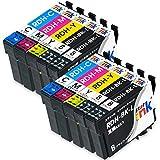 エプソン RDH 10本セット EPSON 互換 インク カートリッジ RDH-4CL + RDH-BK-L ×2 PX-048A PX-049A starink