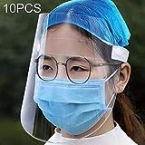 10 PCS Anti-Fog Anti-Oil Transparent Mask Face Shield