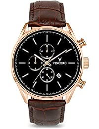 Vincero Chrono S メンズ腕時計 ローズゴールド
