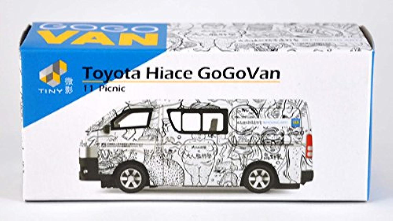 TINY トヨタ ハイエース GoGoVan 11 Picnic 完成品