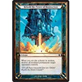 Magic: the Gathering - Behold the Power of Destruction - Archenemy Schemes