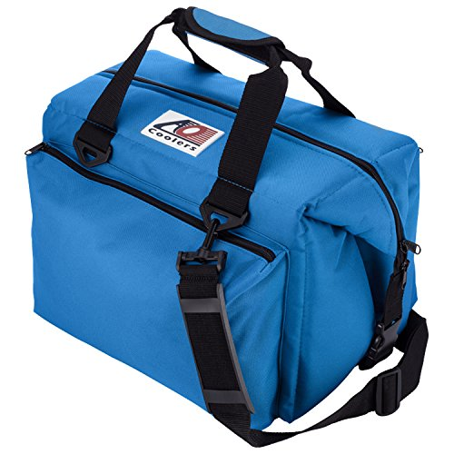 AO Coolers(エーオークーラー) キャンパス ソフトクーラー 24パック デラックス ブルー AO24DXRB (日本正規品)