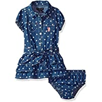 U.S. Polo Assn. Baby Girls Casual Dress