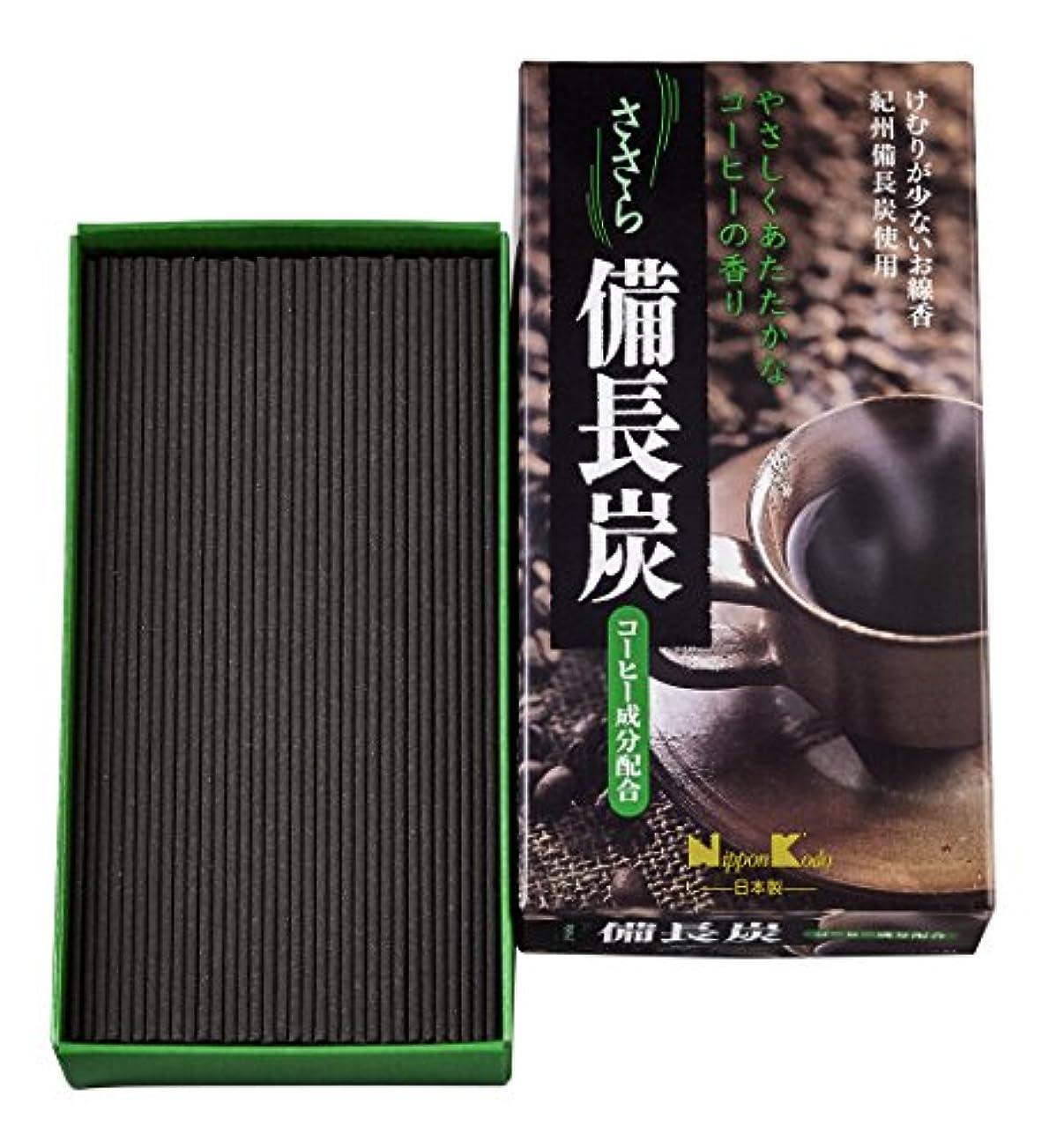 溶岩現像トランスミッションささら 備長炭 コーヒー バラ詰